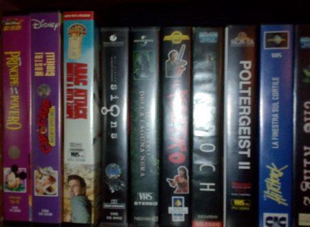 Videocassette,DVD e film