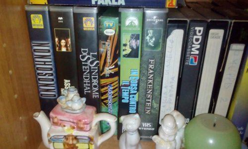 Videocassette e film comici ed horror