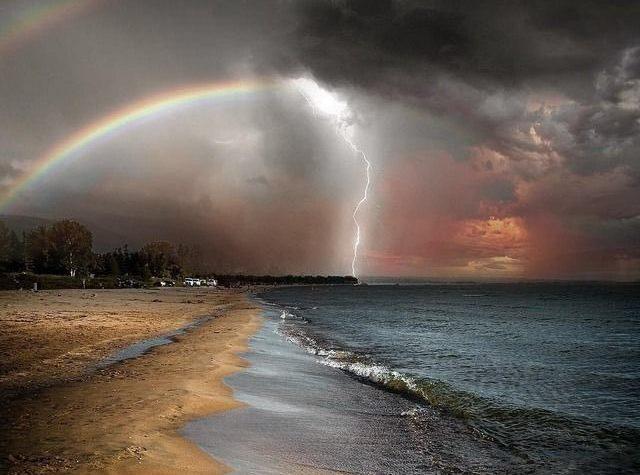 I temporali estivi